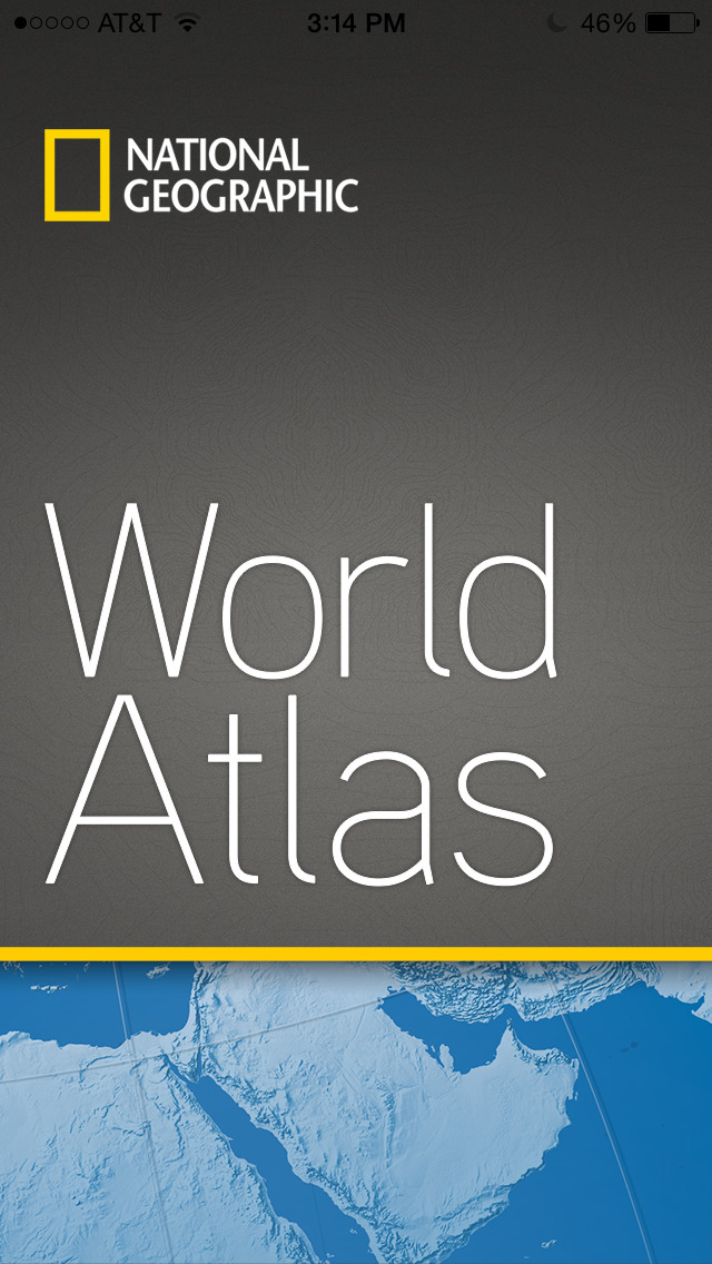 Screenshots of National Geographic World Atlas