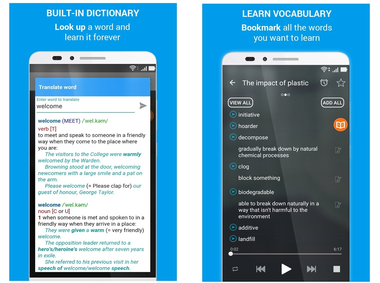 Screenshots of Learn English By Conversation